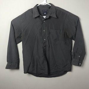 Hagger Mens Large Button Up Shirt